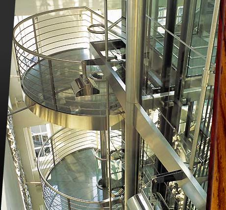 Widder Hotel Elevator and Stairs